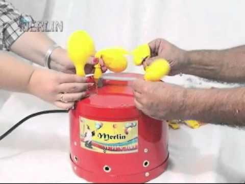 inflador 4 bicos profissional - Inflador de balões e artigos para festas