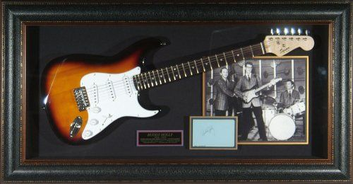 Buddy Holly Authentic Signature Framed Guitar Display ...