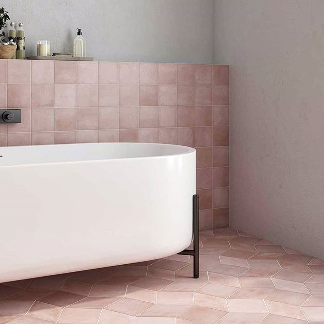 Wow Mud Ceramic Tile From Specceramics Wowdesigneu Gcthomas Specceramics Mud Pinktiles Pink Tiles Ceramic Tiles Interior Design Inspiration