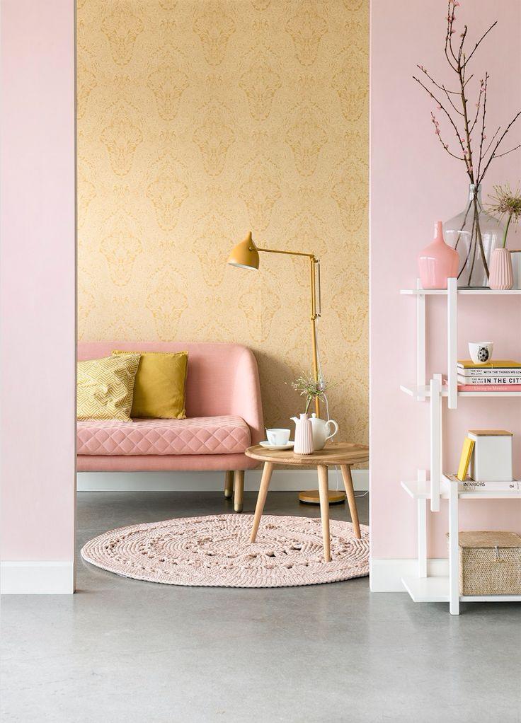 Murphy in Szene gesetzt von @eijffinger #sofacompany_de #danishdesign #furniture #scandinaviandesign #interiordesign #furnituredesign #nordicinspiration #retrostyle #pink #Sofa