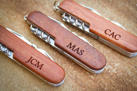 Custom Pocket Knife, Personalized Knife, Engraved Knife: Groom's Gift for Him, Stocking Stuffers, Father's Day, Groomsmen, Wedding Favor
