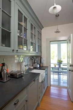 19th Century Farmhouse Renovation; updated photos by Mick Hales - eclectic - kitchen - new york - KATE JOHNS AIA