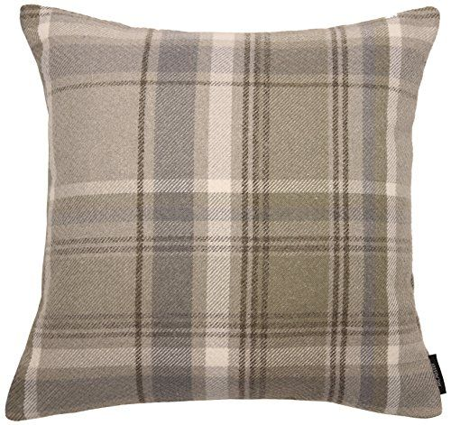 MCALISTER TEXTILES - Made to suit you: Each scatter cushion is designed exclusively in the UK and made to order for our assurance of quality. Our Heritage range is our best-selling tartan check plaid wool-feel design in seven amazing colours. These are the perfect products for creating a rustic, traditional and shabby chic look inspired by the Scottish Highlands. CUSHION COVER ONLY: INSERT NOT INCLUDED. 16x 16 Inches (43x 43cm approximately, sizes may slightly vary). THICK TEXTURED WEAVE…