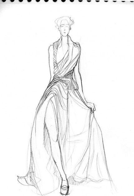 les 25 meilleures id es concernant croquis de robe sur pinterest. Black Bedroom Furniture Sets. Home Design Ideas