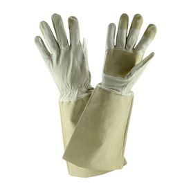 Style Selections Rose Pruning Gauntlet Large Unisex Leather Palm Work Gloves Lw23240-Wl