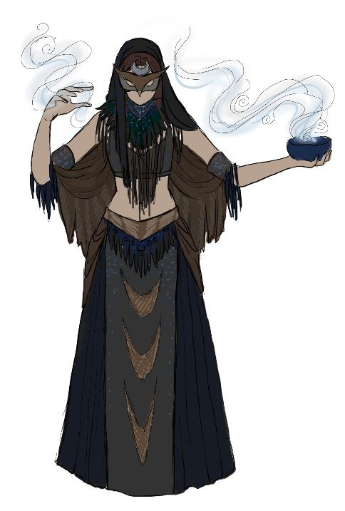 Owl Priestess by IzzyLawlor on DeviantArt