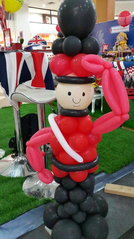 London guard balloon