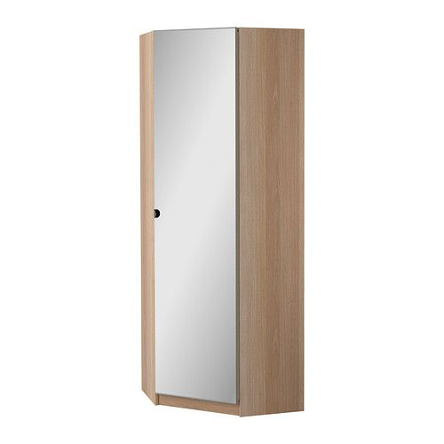 best pax corner wardrobe vikedal white stained oak effect cm ikea with ikea pax caisson. Black Bedroom Furniture Sets. Home Design Ideas