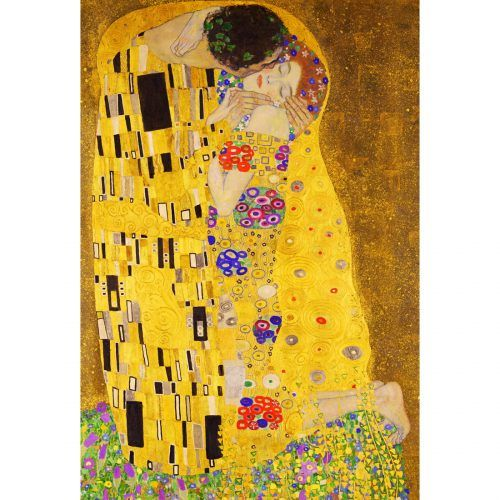 Buy this world famous canvas from just $32.50 AUD #FreeShipping http://thecanvasartfactory.com.au/product/the-kiss-klimt/ #Klimt  #TheKiss