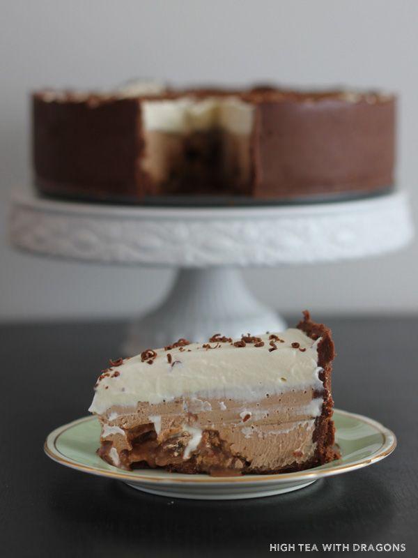 Moro & Bailey's cheesecake | High Tea with Dragons