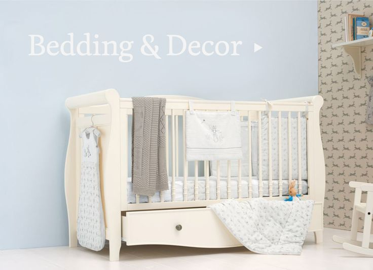 Lovely Peter Rabbit bedding & decor at Mothercare