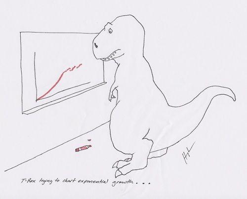 Poor T-Rex. He's trying so hard!