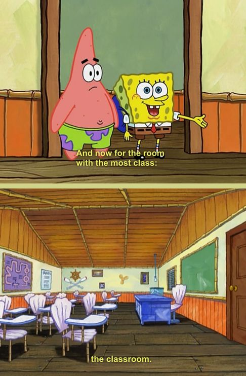 Hehehe :) Appreciate learning. | The 23 Wisest Things Spongebob Ever Said
