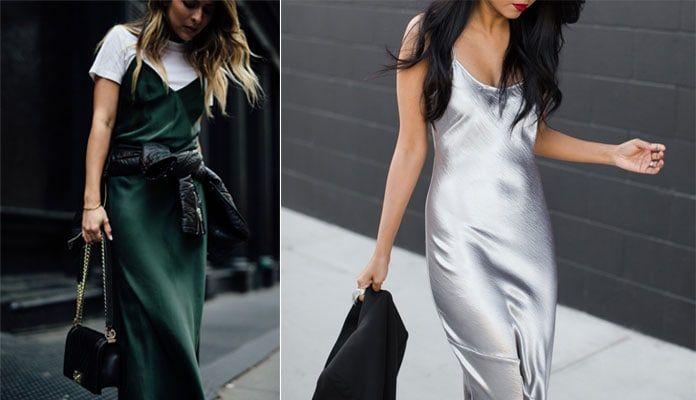 bf25ae40d1c Slip dress: Πως να συνδυάσετε το απλό κομψό φόρεμα σε κάθε περίσταση ...