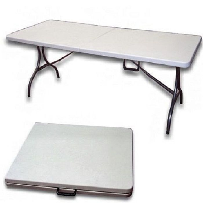 Folding Event Trestle Table, Plastic Folding Tables, Small Folding Table ~  Home Design