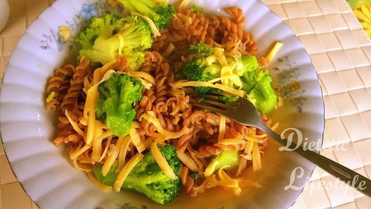 4 wskazówki jak zrobić obiad na szybko oraz przepis na makaron z brokułem lub tuńczykiem i suszonymi pomidorami - Dietetic Lifestyle