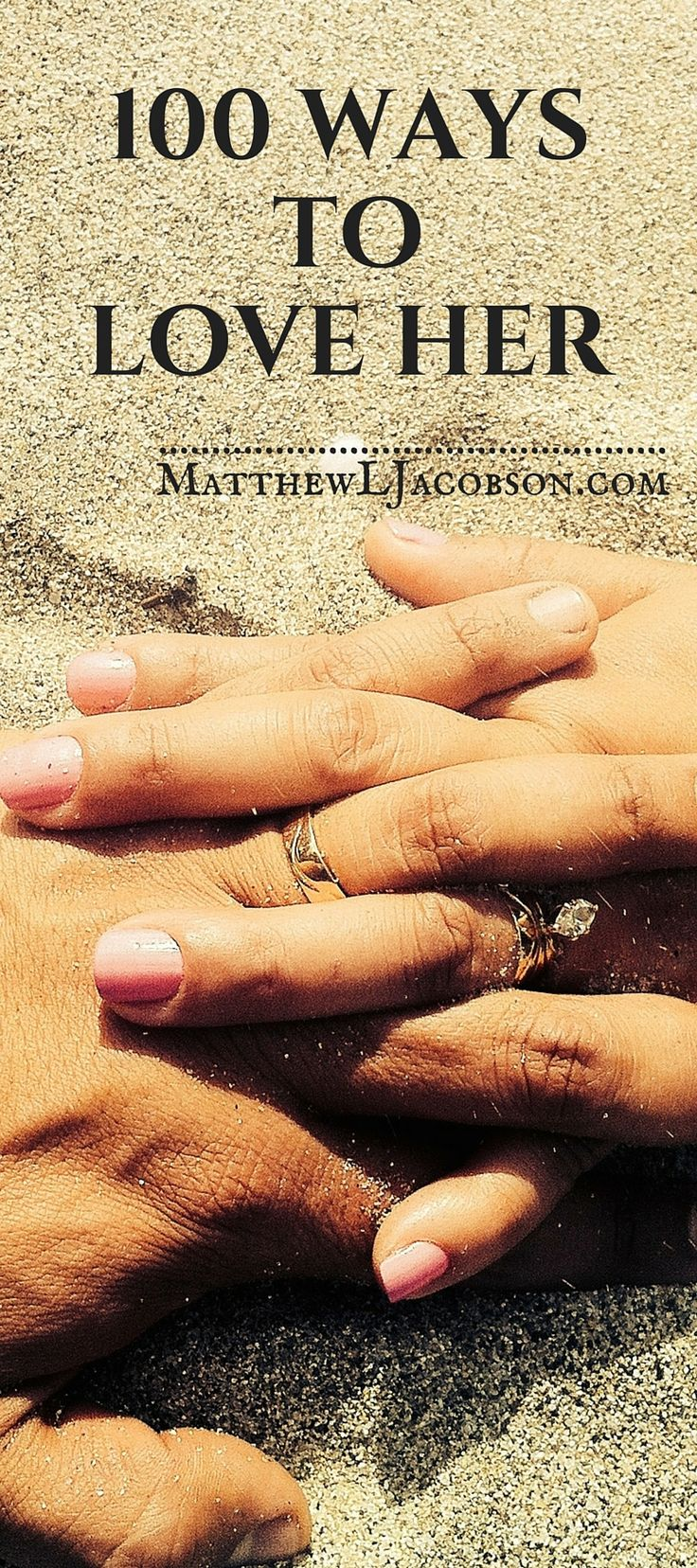 Sometimes men need creative input for keeping things in marriage fresh. This is a short, practical resource for every husband who could use ideas for creatively loving his wife in ways meaningful to her.