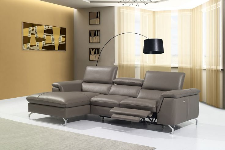 Angela Premium Recliing Leather Sectional