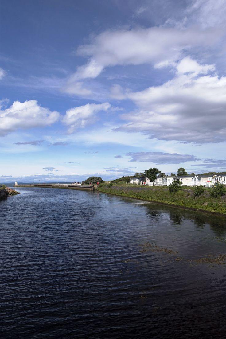 Nairn Marina, Moray Firth, Scotland