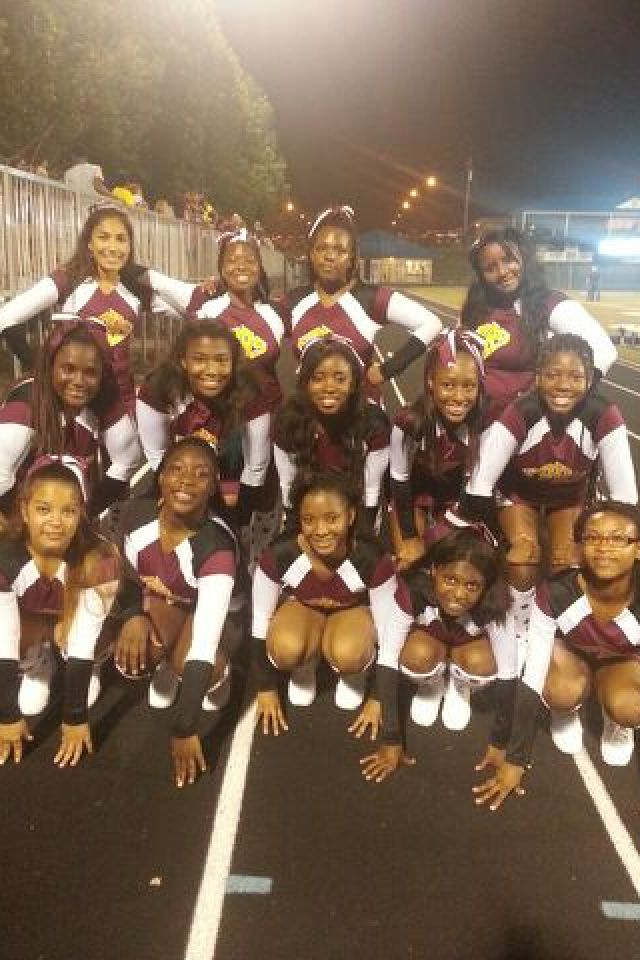 Panthers forest park high school cheerleading :)
