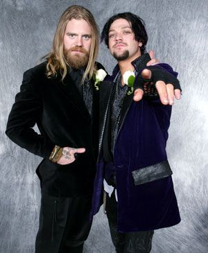 Bam and old school buddy Ryan Dunn, mug for the camera. RIP Ryan Dunn!