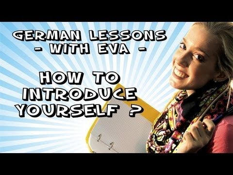 German Lesson 2 - what's your name? where are you from? (+playlist)