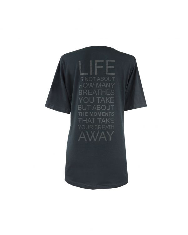 T-shirt Life black