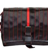 FOLIKLO -men's bag made from upcycled seat belts. / FOLIKLO - męska torba z pasów bezpieczeństwa. www.dekoeko.com