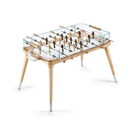 Teckell Foosball Champion Teckell designs are structurally stunning foosball tables