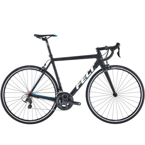 Felt F4 Carbon Road Bike - 2017 - Matt Black / 56cm  #CyclingBargains #DealFinder #Bike #BikeBargains #Fitness Visit our web site to find the best Cycling Bargains from over 450,000 searchable products from all the top Stores, we are also on Facebook, Twitter & have an App on the Google Android, Apple & Amazon.