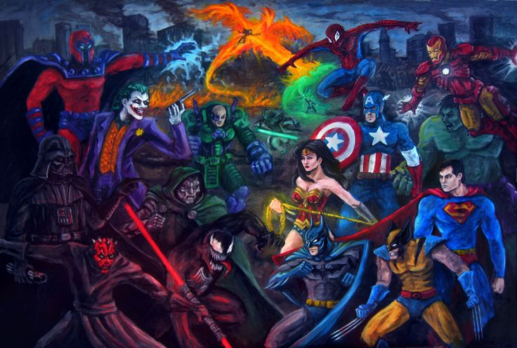 Dc Comics Fans : Dc comics fan art smash up quot star wars marvel