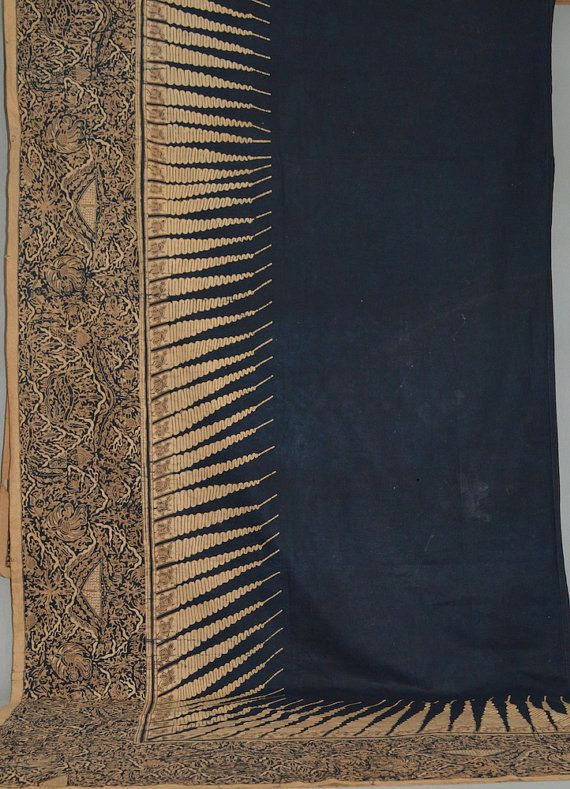 Dodot ceremonial court dress batik tulis Surakarta Java by Wassing