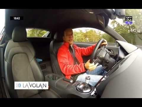 Vali Porcisteanu - Audi R8 - Drive Test @ La Volan - Digi 24