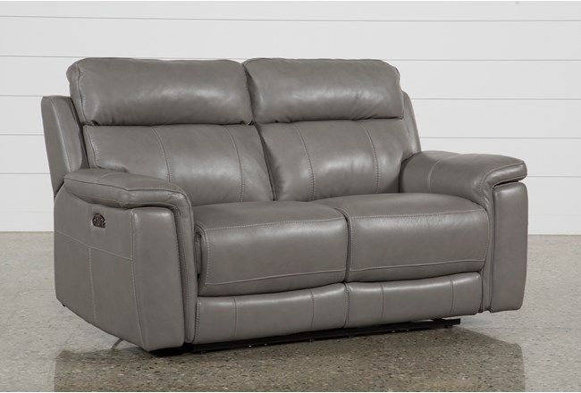 $1150 Dino Power Reclining Loveseat W/Power Headrest - 360