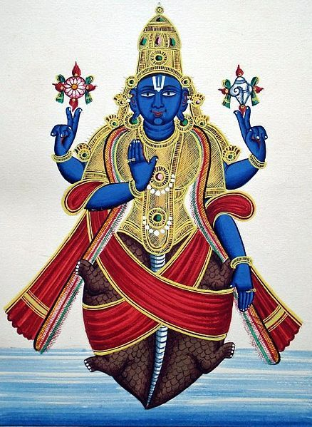 Kurma deva, Incarnation of Vishnu as a Turtle