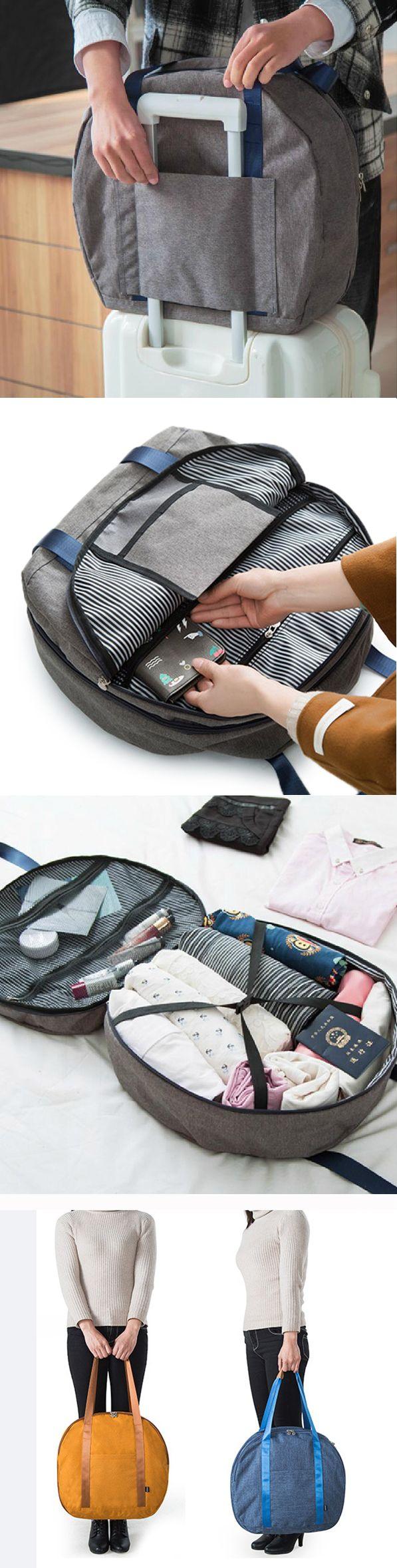 US$21.35 Nylon Casual Travel Clothes Storage Bag Handbag Shoulder Bags Luggage Bag