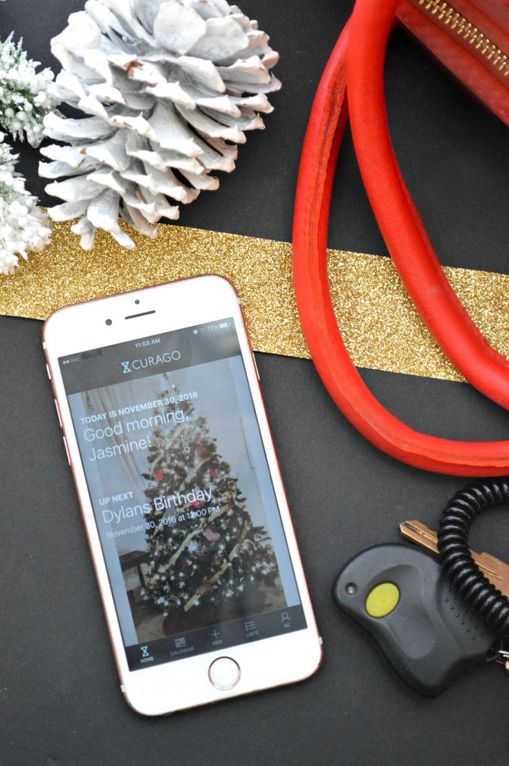 AD How We Stay Organized During The Holidays with the all new & free @curagoapp  app CURAGOMOM