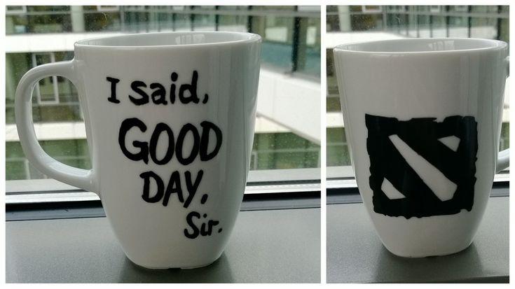 DIY DotA 2 mug! posted on: http://www.TheDarg0.com created by: http://www.Nerdspirations.com