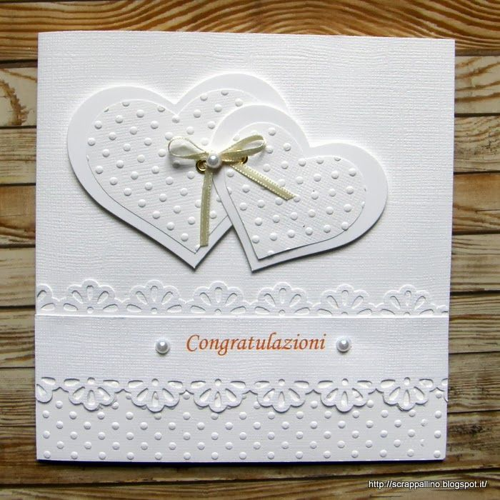 Wedding: Card total white
