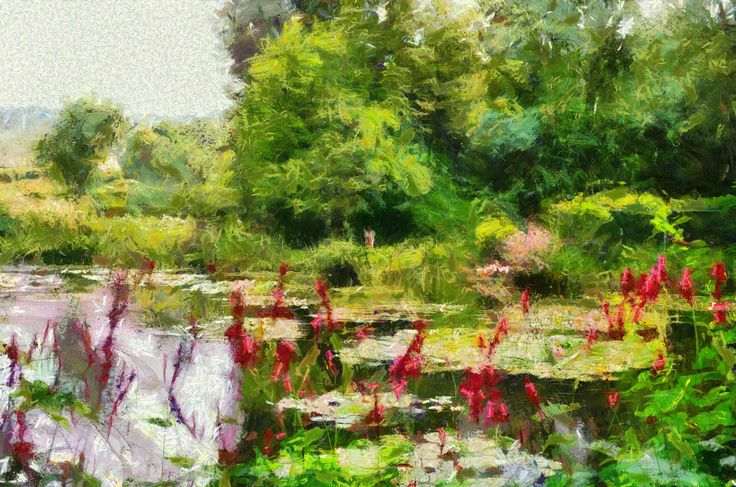 Claude Monet style painted with Dynamic Auto painter from Mediachance