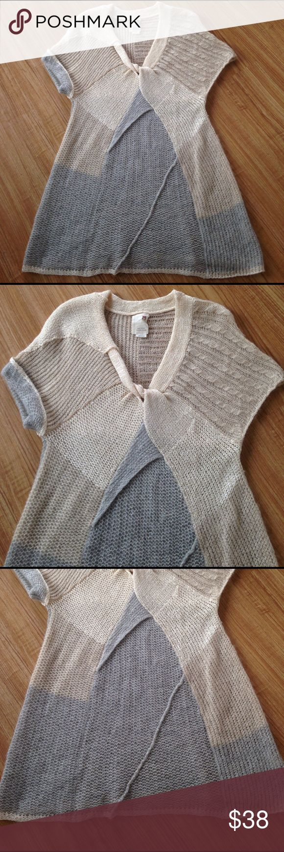 Sale Today ❤️Gorgeous sweater Worn once excellent condition.Far away from close Anthropologie Sweaters