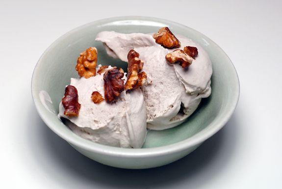 Roasted Banana Coconut Ice Cream   Vegan and Gluten Free