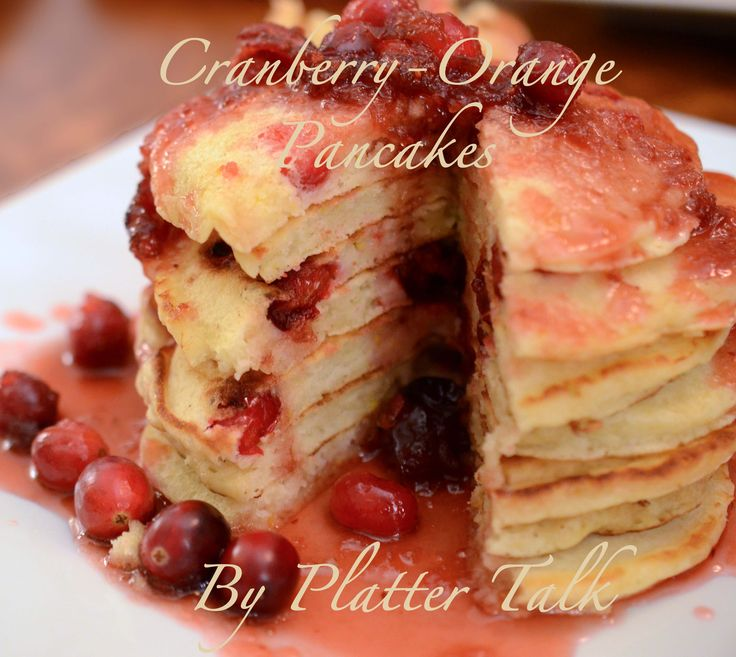 Cranberry-Orange Pancakes