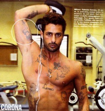Fabrizio Corona #Tatuaggio #tatoo