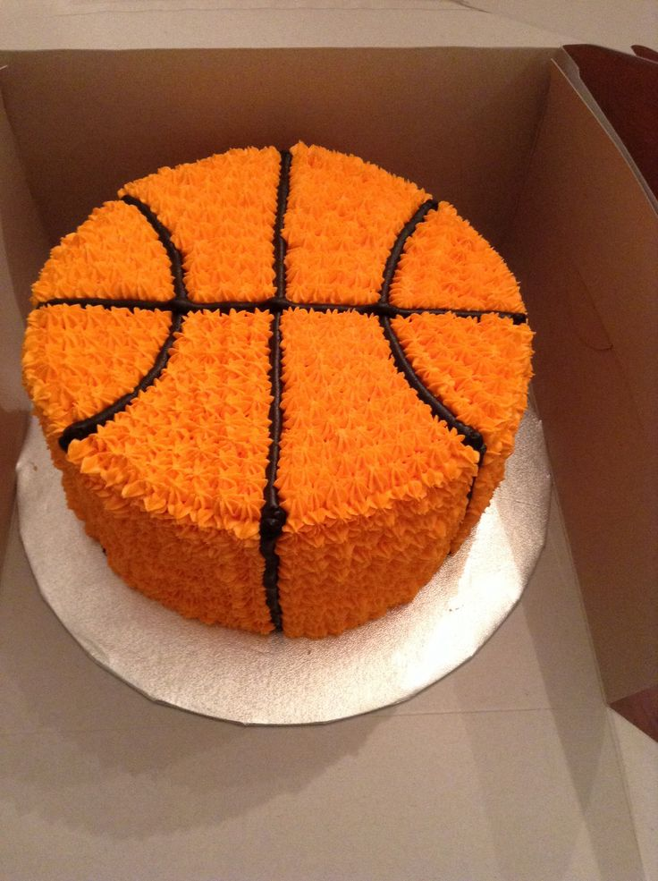 Basketball Cake Birthday Cakes Made By The Sweet Life