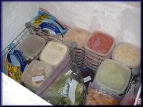 Savory Seasonings: Organizing the Deep Freeze