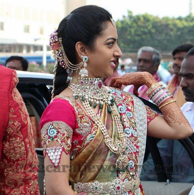 Balakrishna Daughter Tejaswini Wedding   Jewellery Designs
