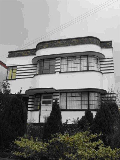 John Keleher. Art Deco House, UK.