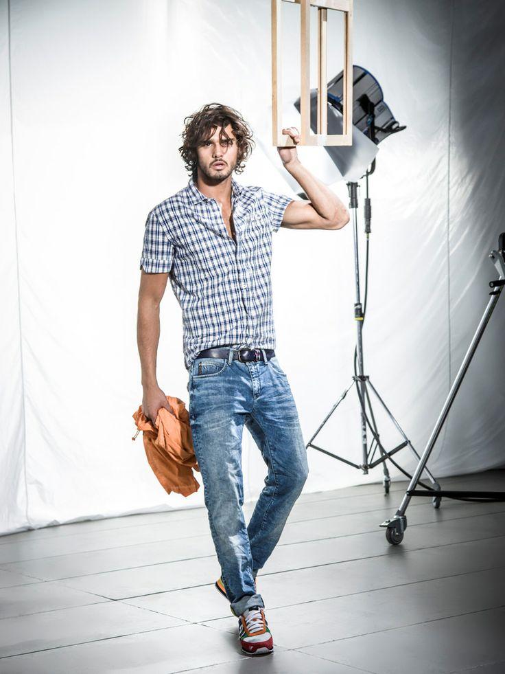 Marlon Teixeira for Armani Jeans Spring Summer