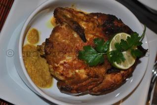 Pollo exotico con coco, lima y curry - mondorecetas.es